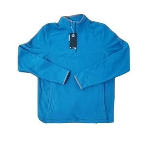 Under Armour Blue Mens Small 1/4 Zip Pullover New